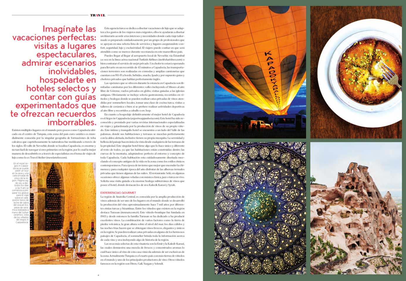 Robb Report Mexico Tailor Made Cappadocia Turkey