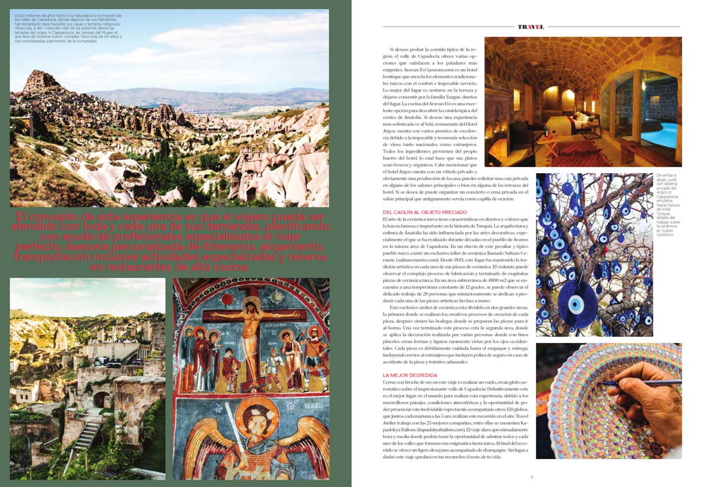 Robb Report Mexico Tailor Made Cappadocia