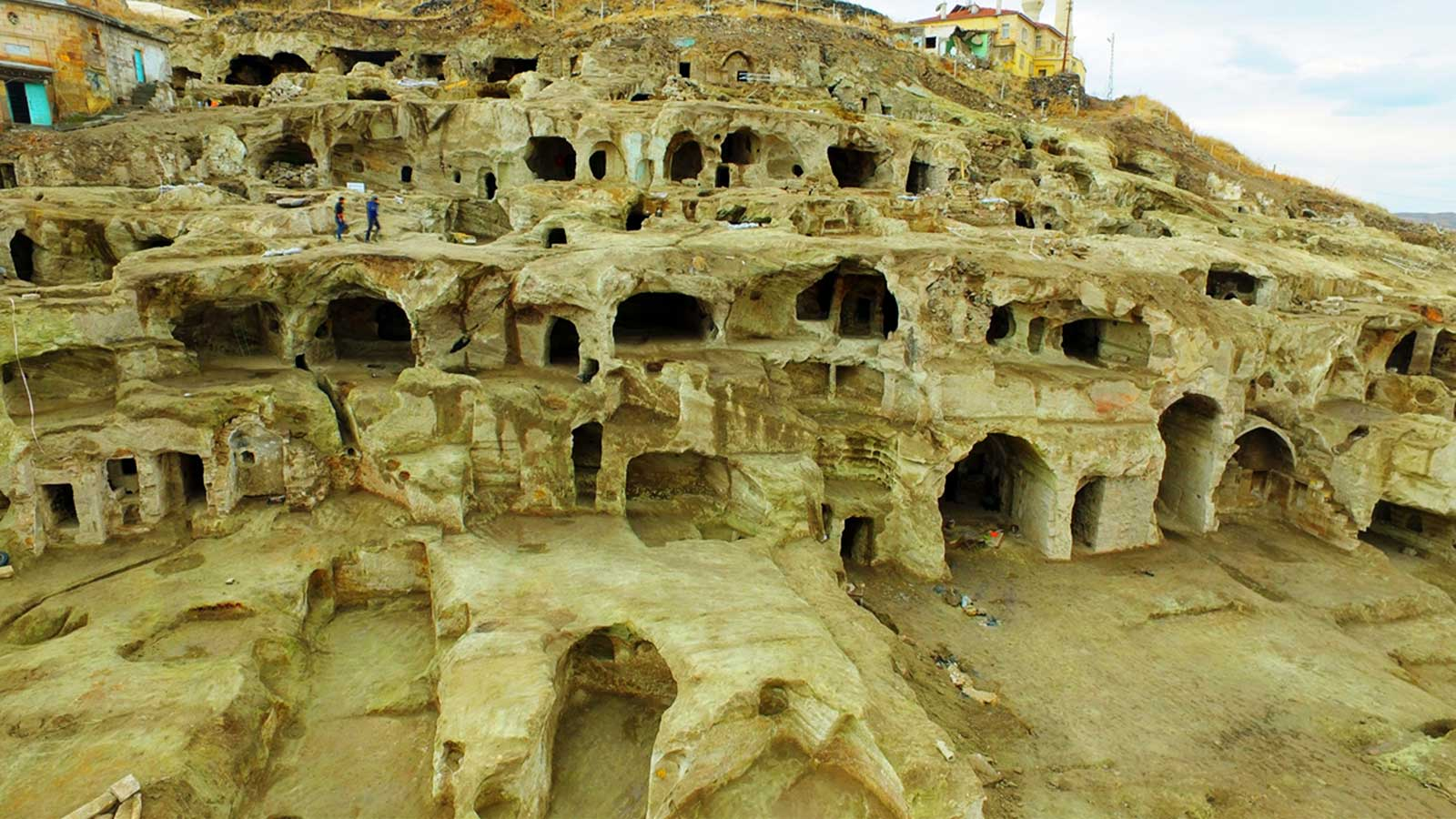 Vast Underground City Found Nevsehir