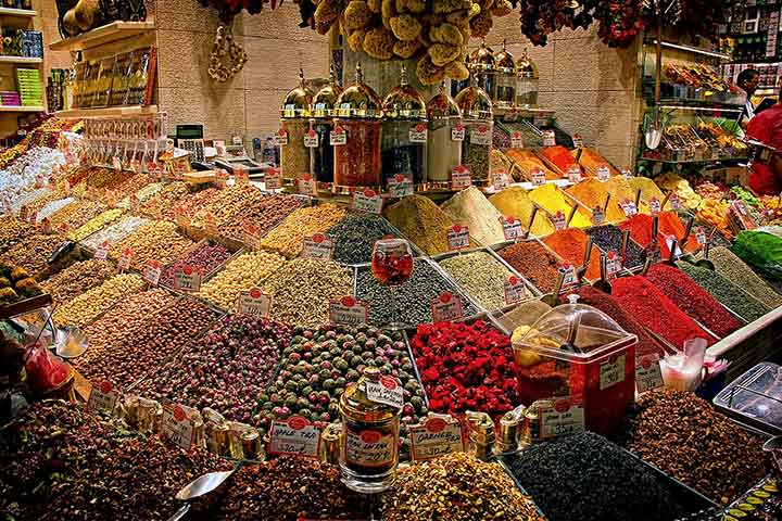 Spice Market on Asian Side of Istanbul