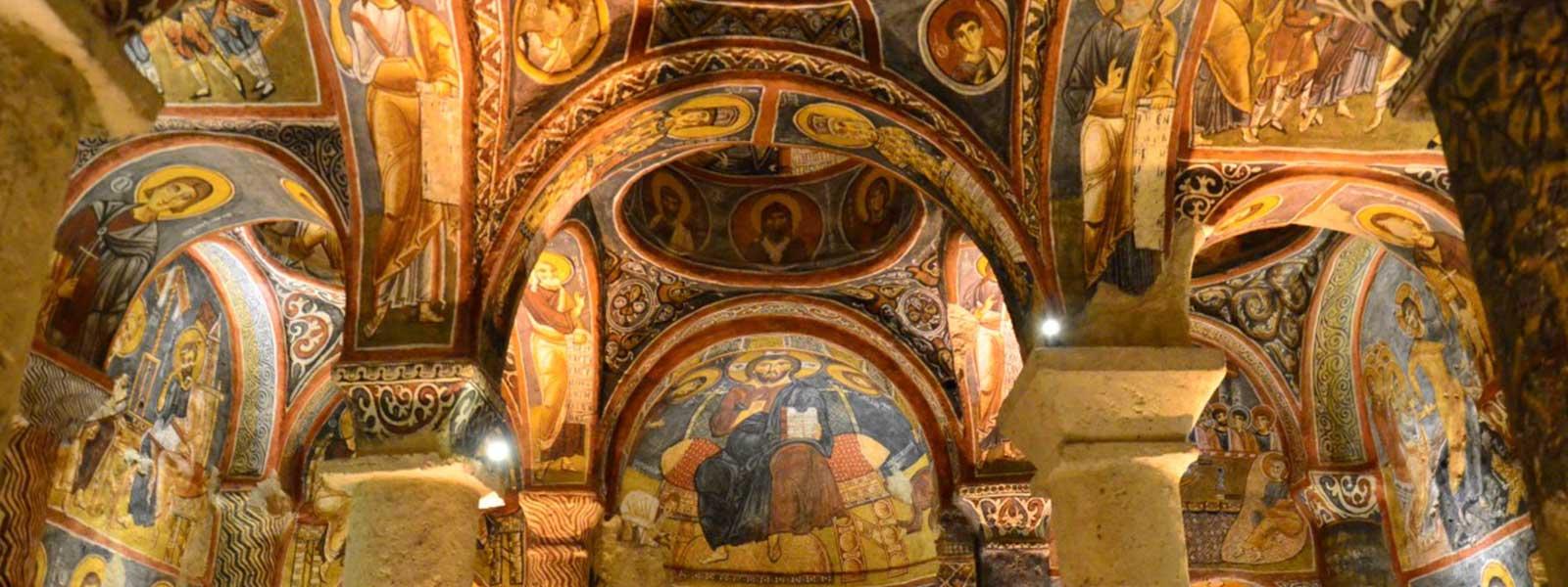 Dark Church Cappadocia