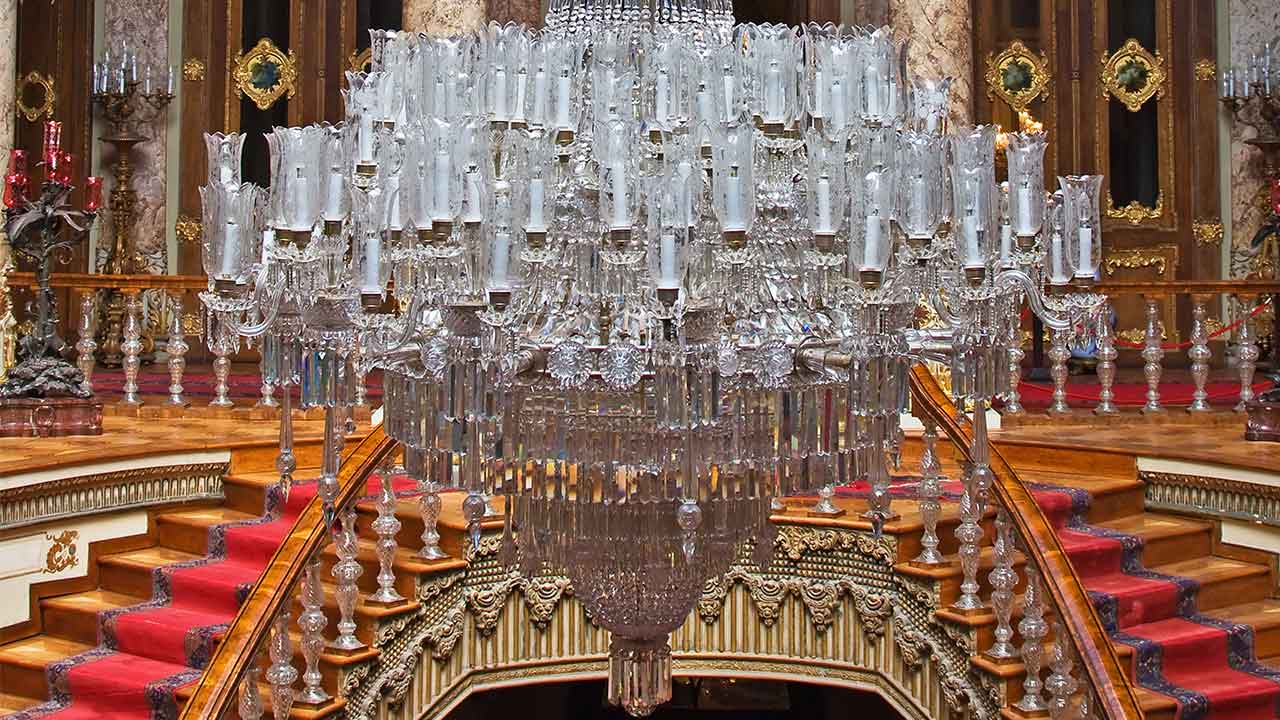 Dolmabahce Palace Chandelier