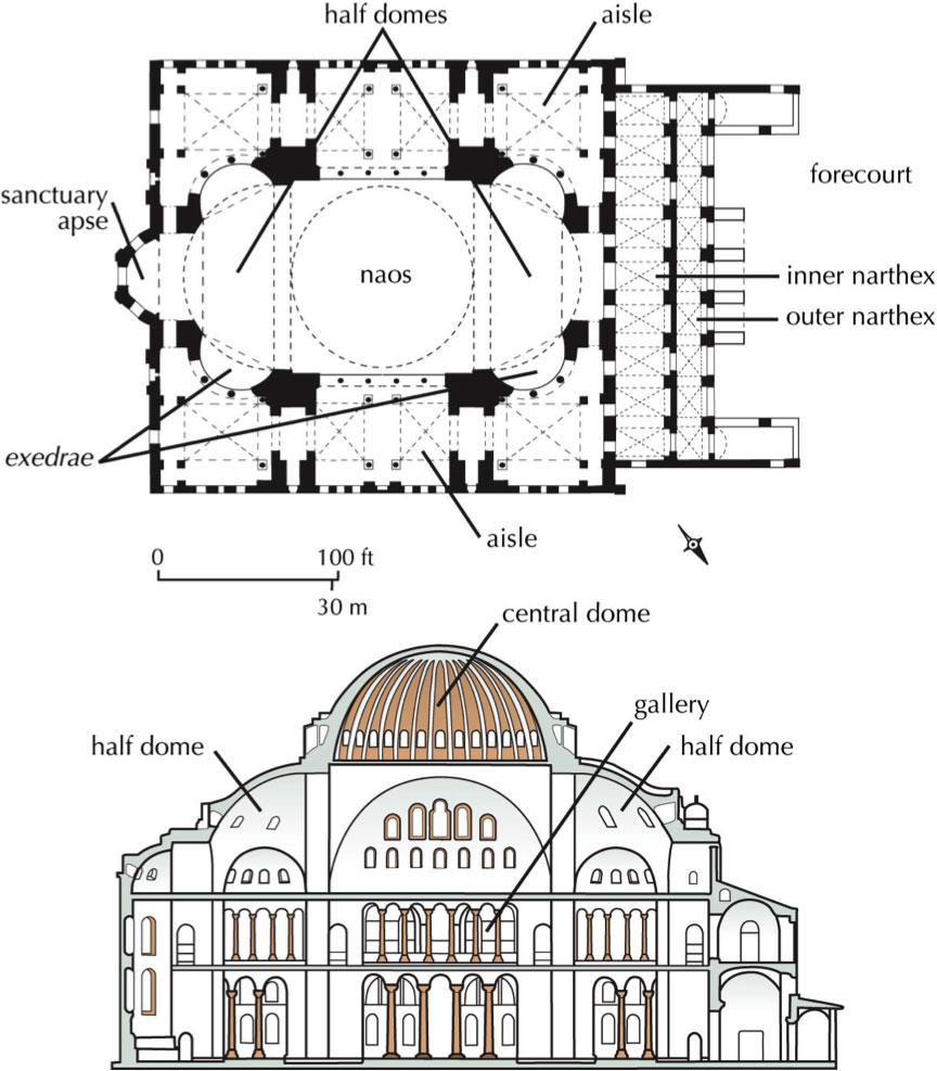 Hagia sophia museum istanbul turkey for 1919 sophia floor plan