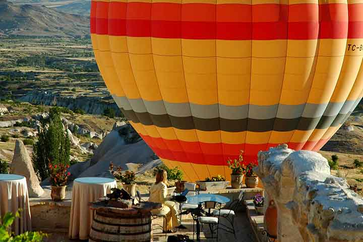 Museum Hotel Hot Air Balloon Cappadocia