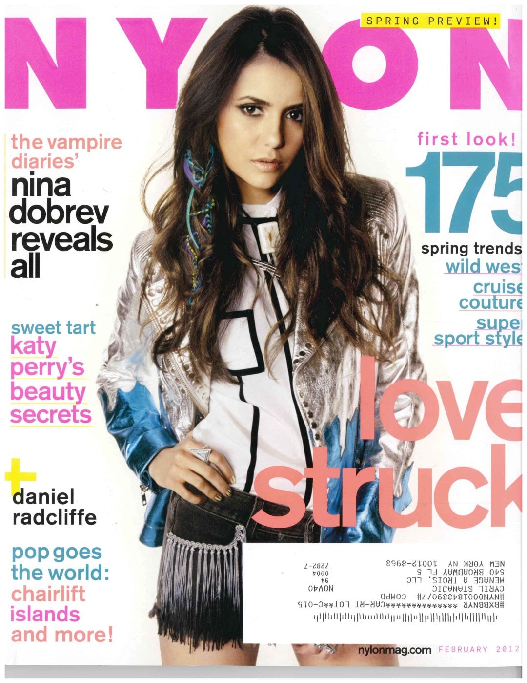 Nylon Magazine Cover Turkey