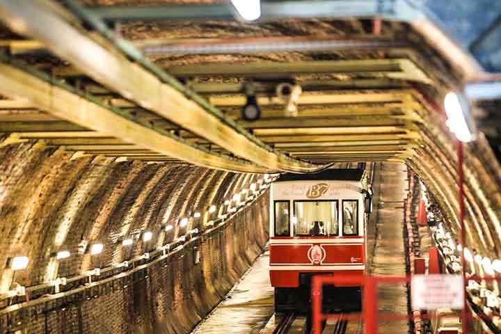 Taksim Tunnel Oldest Istanbul Turkey
