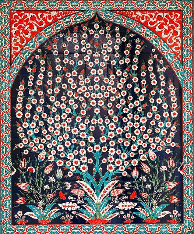 Turkish Tile Ceramic Art Iznik