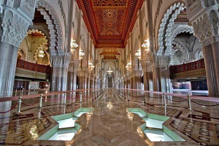 Hassan II Mosque Interior Morocco