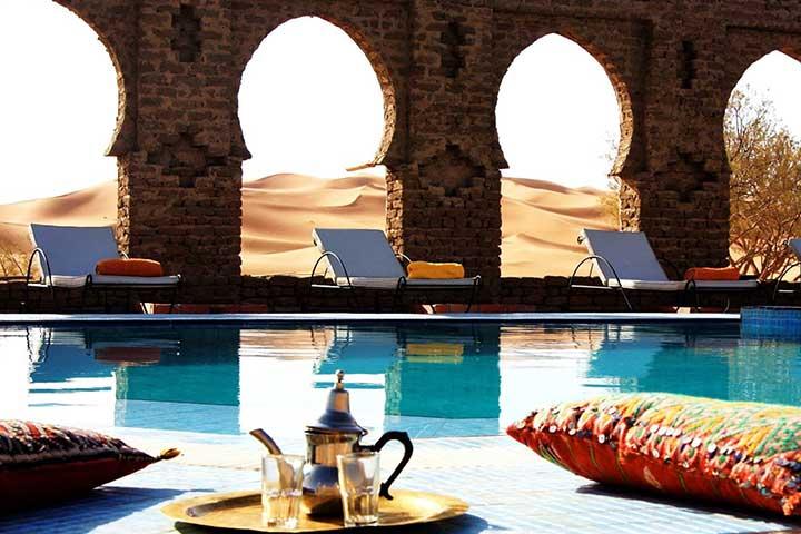 Luxury Desert Sahara Hotel Morocco