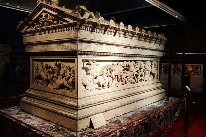 Alexander The Great's Sarcophagus in Istanbul