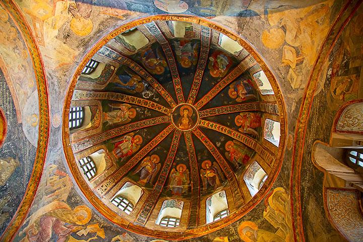 Byzantine Frescoes & Mosaics at Chora Church in Istanbul