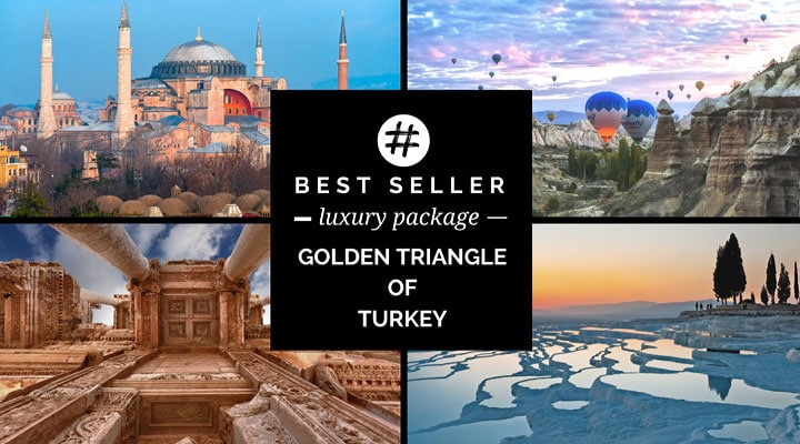 Best Seller Golden Triangle Turkey Tour