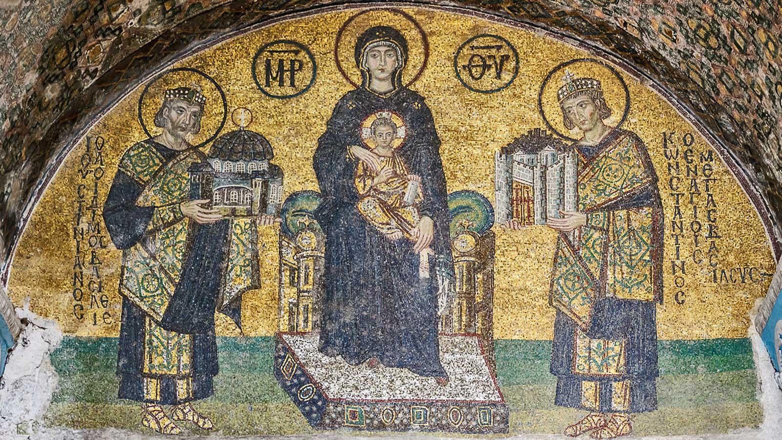 Justinian I Hagia Sophia Istanbul