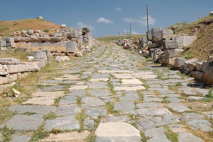 Yalvac Road of Pisidian Antioch