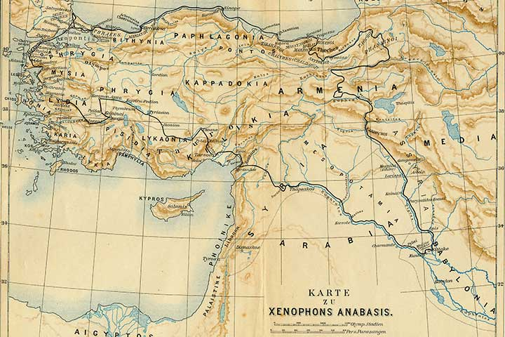 Xenophon Travel Map