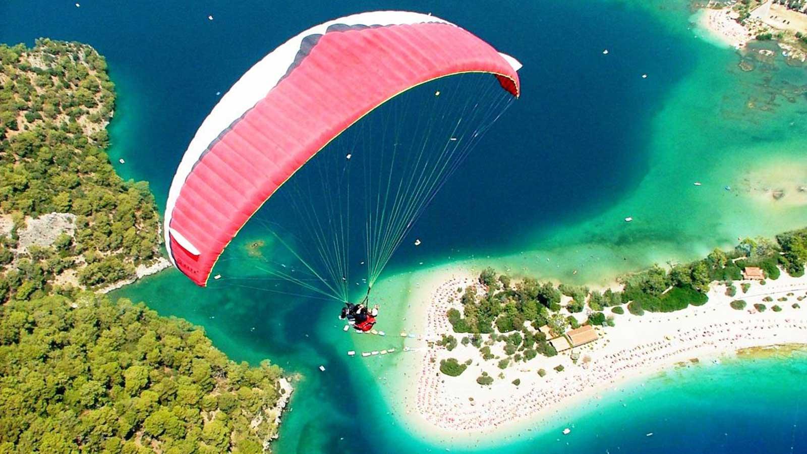 A Latter Day Icarus: Paragliding Babadag-Oludeniz