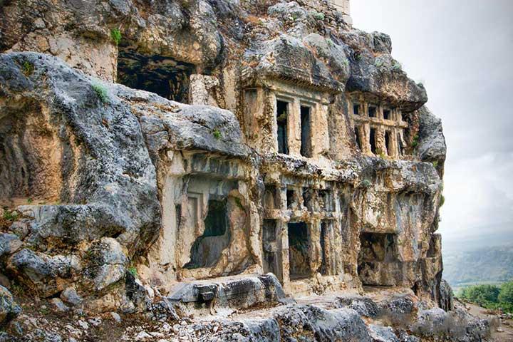 Lycian Rock Tombs Tlos