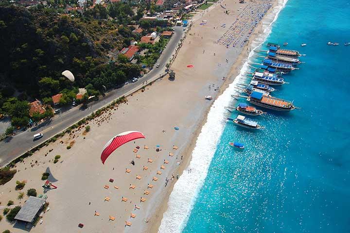 Paragliding in Oludeniz Fethiye Turkey