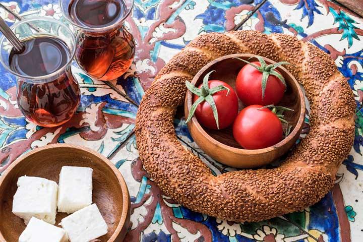 Simit Tea Turkish