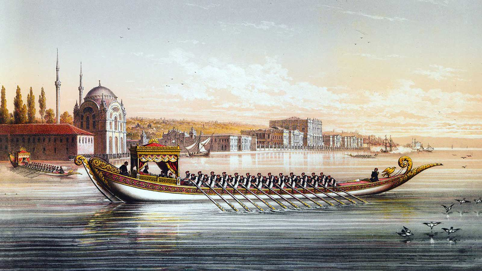 Boats and Boatmen in Old Istanbul