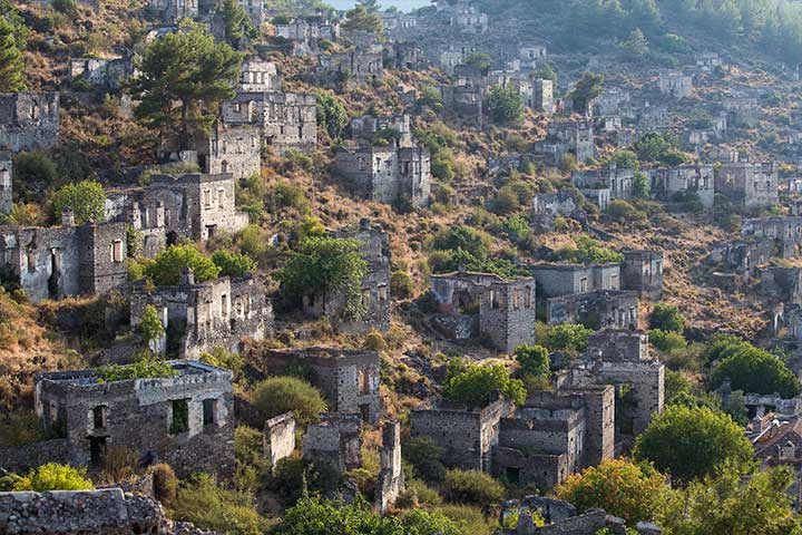 Greek Houses of Kayakoy